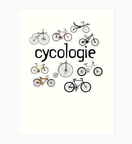 cycologie Art Print