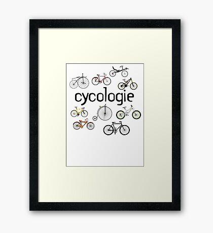 cycologie Framed Print