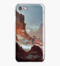 Red Mountains iPhone Case/Skin