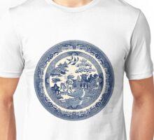 China Blue Willow Unisex T-Shirt
