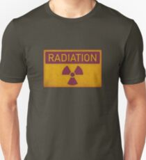 Radiation hazard Unisex T-Shirt
