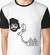 Jeff Lynne's Telephone Graphic T-Shirt