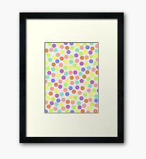 abstract vector - Drunkenness - Framed Print