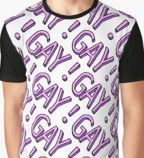 GAY!GAY!GAY! Graphic T-Shirt