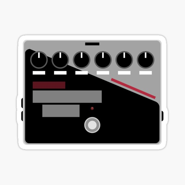 M-M-M-M-M-Modulation Pedal Sticker