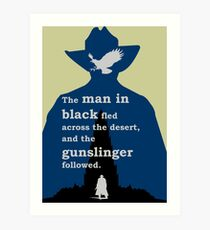 Dark Tower - Gunslinger Art Print