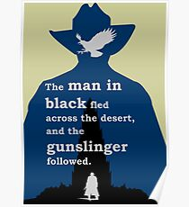 Dark Tower - Gunslinger Poster