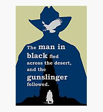 Dark Tower - Gunslinger Photographic Print