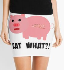 Low Carbers Eat What?! Bacon!  Mini Skirt