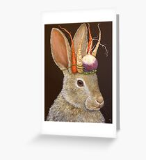 Garden King Greeting Card