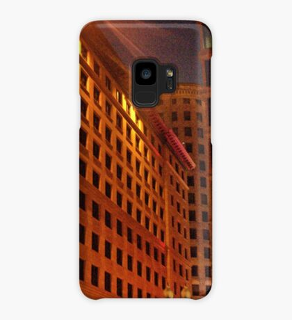 Downtown at night Case/Skin for Samsung Galaxy