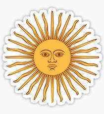 SUN, Argentina, SUNSHINE, SUNNY, SOL, STAR, Sol de Mayo Bandera de Argentina, Sky, Blue Sticker