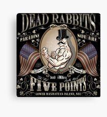 Dead Rabbits Brawler Canvas Print