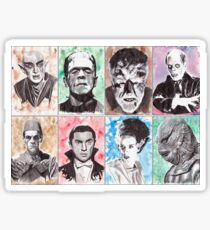 Classic Monster Collection Sticker