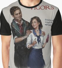 Bioshock Infinite Vigor Poster Graphic T-Shirt