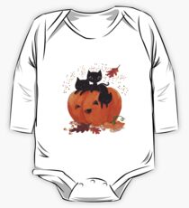 trick or treat! Long Sleeve Baby One-Piece