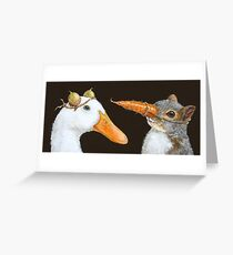 Getting to Know You Greeting Card
