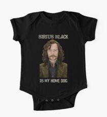 Sirius Black is My Home Dog One Piece - Short Sleeve