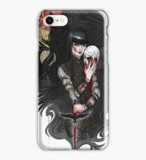dagger & mask iPhone Case/Skin