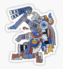 Tlaloc - He Who Makes Things Sprout Sticker