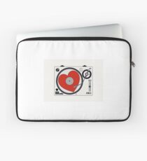 Retro Record Player Laptop Sleeve