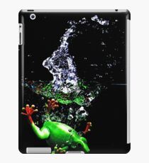 Frogger Splash iPad Case/Skin