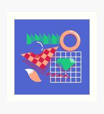 80's Sonic Art Print
