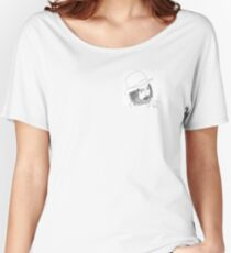 Thom Yorke, Radiohead design Women's Relaxed Fit T-Shirt