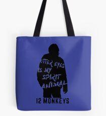 Otter eyes - 12 monkeys Tote Bag