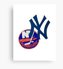 islanders and yankees Canvas Print
