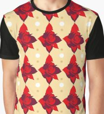Vintage red rose texture 1 Graphic T-Shirt
