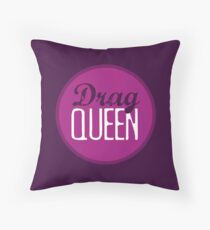 Drag Queen Throw Pillow