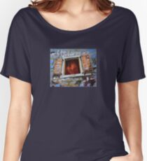 one old window on the wall Women's Relaxed Fit T-Shirt