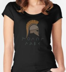 ΜΟΛΩΝ ΛΑΒΕ Women's Fitted Scoop T-Shirt