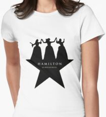 schuyler sisters Women's Fitted T-Shirt