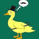 Classy Duck by stegopawrus