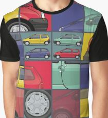 Renault Twingo 90s Colors Quartet Graphic T-Shirt