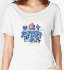 Joyful Kraken Women's Relaxed Fit T-Shirt