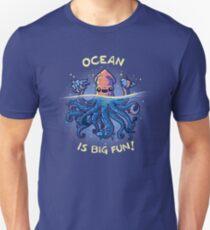 Camiseta ajustada Joyful Kraken