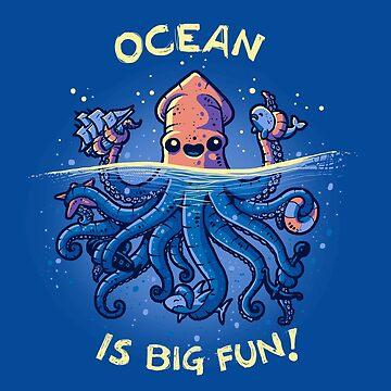 Joyful Kraken de Letter-Q
