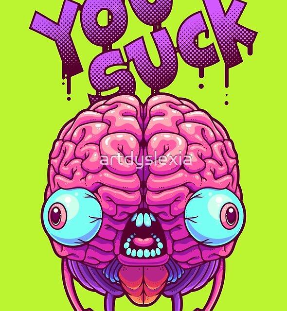 Neurotic Jerk by artdyslexia