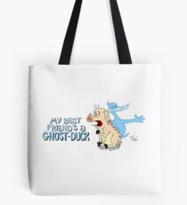 Best Friends Always Have Each Other's Backs (Even In The Afterlife) Tote Bag