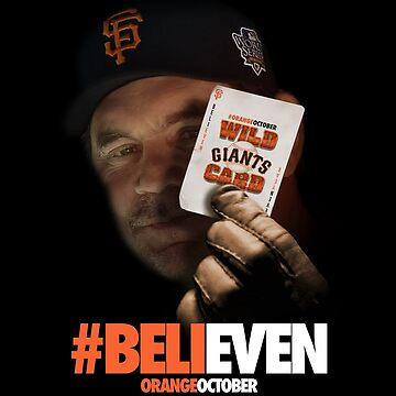 Giants Wild Card: #BeliEVEN by JaymanCreative