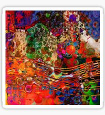 Abstract color Sticker