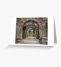 Gateway to Glendalough  (Wicklow - Ireland) Greeting Card