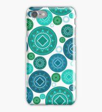 Tonga baskets - Blues iPhone Case/Skin