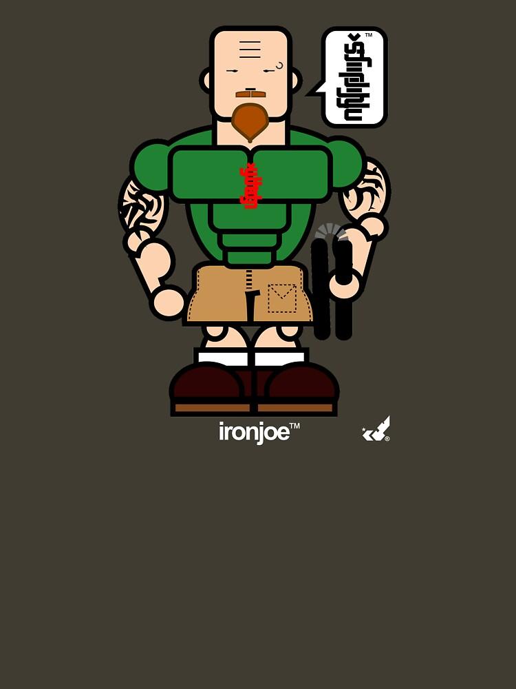 AFR Superheroes #04 - Iron Joe by afrenasia