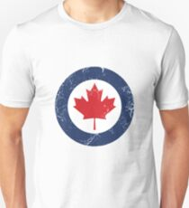 Military Roundels - Royal Canadian Air Force - RCAF Unisex T-Shirt