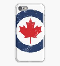 Military Roundels - Royal Canadian Air Force - RCAF iPhone Case/Skin