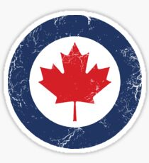 Military Roundels - Royal Canadian Air Force - RCAF Sticker
